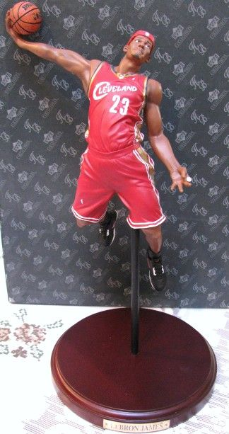 Lot Detail - LEBRON JAMES 2003-04 NBA ROOKIE OF THE YEAR ...