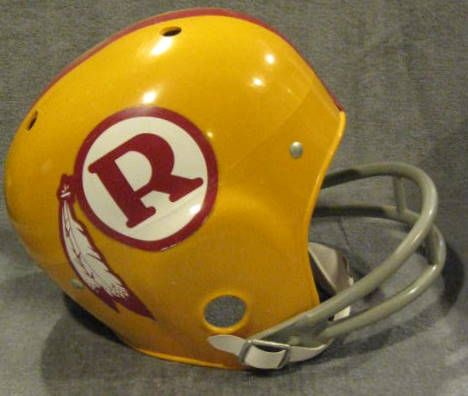 Nice Lot Detail VINTAGE WASHINGTON REDSKINS YOUTH HELMET  for cheap