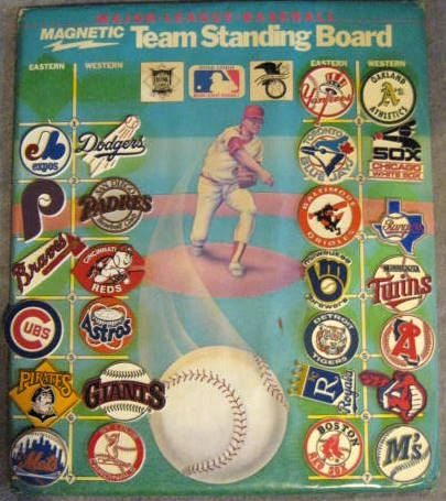 Lot Detail Vintage Major League Baseball Standings Board W Team