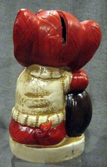 Auctions In Alabama >> Lot Detail - VINTAGE 60's ALABAMA CRIMSON TIDE MASCOT BANK