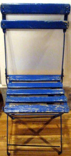 Lot Detail Vintage Fenway Park Folding Chair