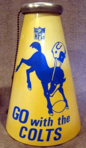60's BALTIMORE COLTS MEGAPHONE