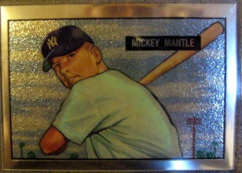 1996 MICKEY MANTLE COMMEMORATIVE CARD SET
