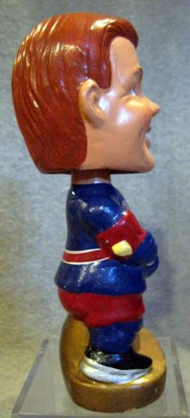 60's NEW YORK RANGERS REALISTIC FACE BOBBING HEAD - RARE!
