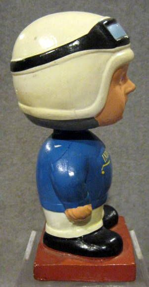 60's INDIANAPOLIS 500 RACE CAR DRIVER BOBBING HEAD