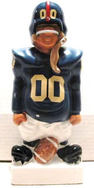 60's NEW YORK GIANTS KAIL STANDING LINEMAN BANK- LARGE