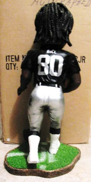 JERRY RICE #80 OAKLAND RAIDERS 17 SIGNED BOBBING HEAD