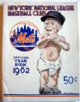 1962 N.Y. METS YEARBOOK- 1st YEAR- SIGNED BY 28 TEAM MEMBERS