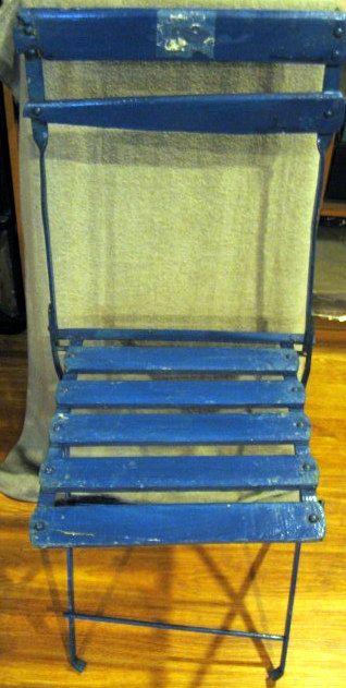 lot detail vintage boston red sox fenway park bistro seat w loa. Black Bedroom Furniture Sets. Home Design Ideas
