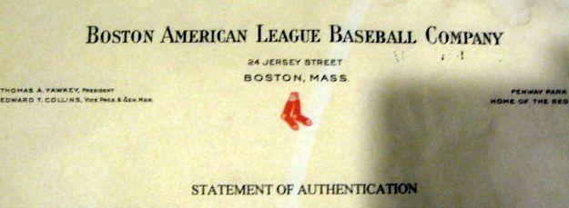 Lot Detail Vintage Boston Red Sox Fenway Park Quot Bistro