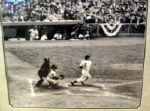 "JOE DIMAGGIO  SIGNED 16"" X 20"" FRAMED PHOTO w/JSA LOA"