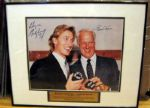 WAYNE GRETZKY/GORDIE HOWE  LIMITED EDITION SIGNED PHOTO w/JSA LOA