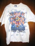1998 NY YANKEES TEAM SIGNED CHAMPIONS SHIRT w/JSA LOA