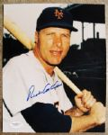 RICHIE ASHBURN SIGNED PHOTO w/JSA