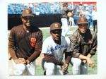 SANDY SR, JR & ROBERTO ALOMAR SIGNED PHOTO w/JSA COA