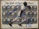 1986 HALL OF FAME SIGNED BOOK