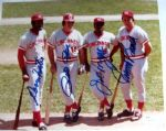 "CINCINNATI REDS ""BIG RED MACHINE SIGNED PHOTO w/JSA COA"