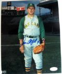 "JIM ""CATFISH"" HUNTER SIGNED PHOTO w/JSA COA"