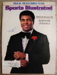 MUHAMMAD ALI  SIGNED SPORTS ILLUSTRATED w/JSA LOA