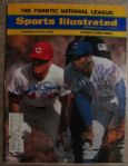 ROSE & BANKS SIGNED SPORTS ILLUSTRATED w/JSA COA