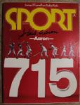 HANK AARON SIGNED SPORTS ILLUSTRATED  w/JSA COA