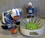 "60s BALTIMORE COLTS ""KAIL"" DOWN LINEMAN & STADIUM ASHTRAY"