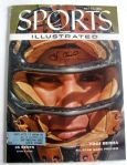 YOGI BERRA SIGNED 1955 SPORTS ILLUSTRATED w/JSA COA