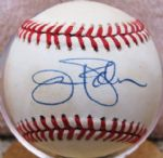 JIM PALMER SIGNED 1987 WORLD SERIES BASEBALL w/JSA COA