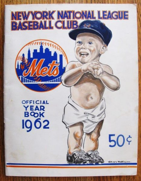 1962 NEW YORK METS YEARBOOK- 1st YEAR