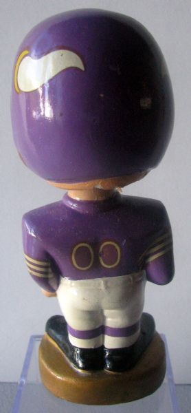 60's MINNESOTA VIKINGS MERGER SERIES BOBBING HEAD w/BOX
