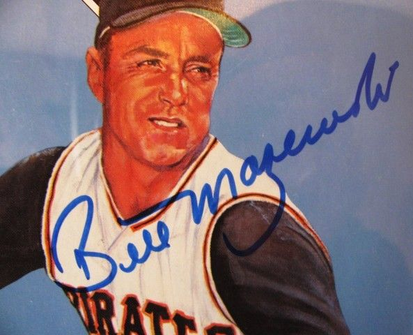BILL MAZEROSKI SIGNED RETIREMENT PROGRAM w/ SGC COA