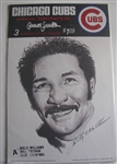 70s CHICAGO CUBS PORTRAITS BY CHARLES LINNETT - SEALED IN PACKAGE