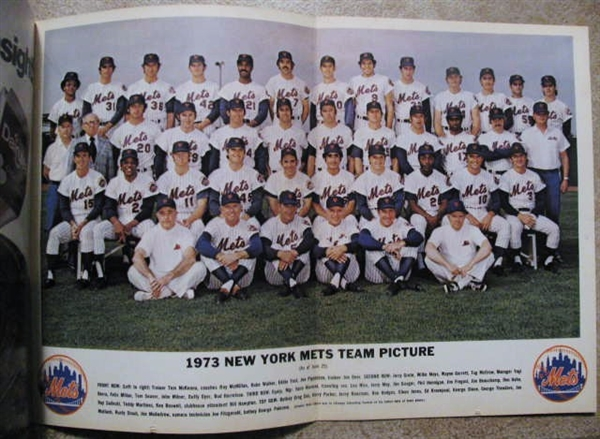 1973 NEW YORK METS YEARBOOK- REVISED EDITION