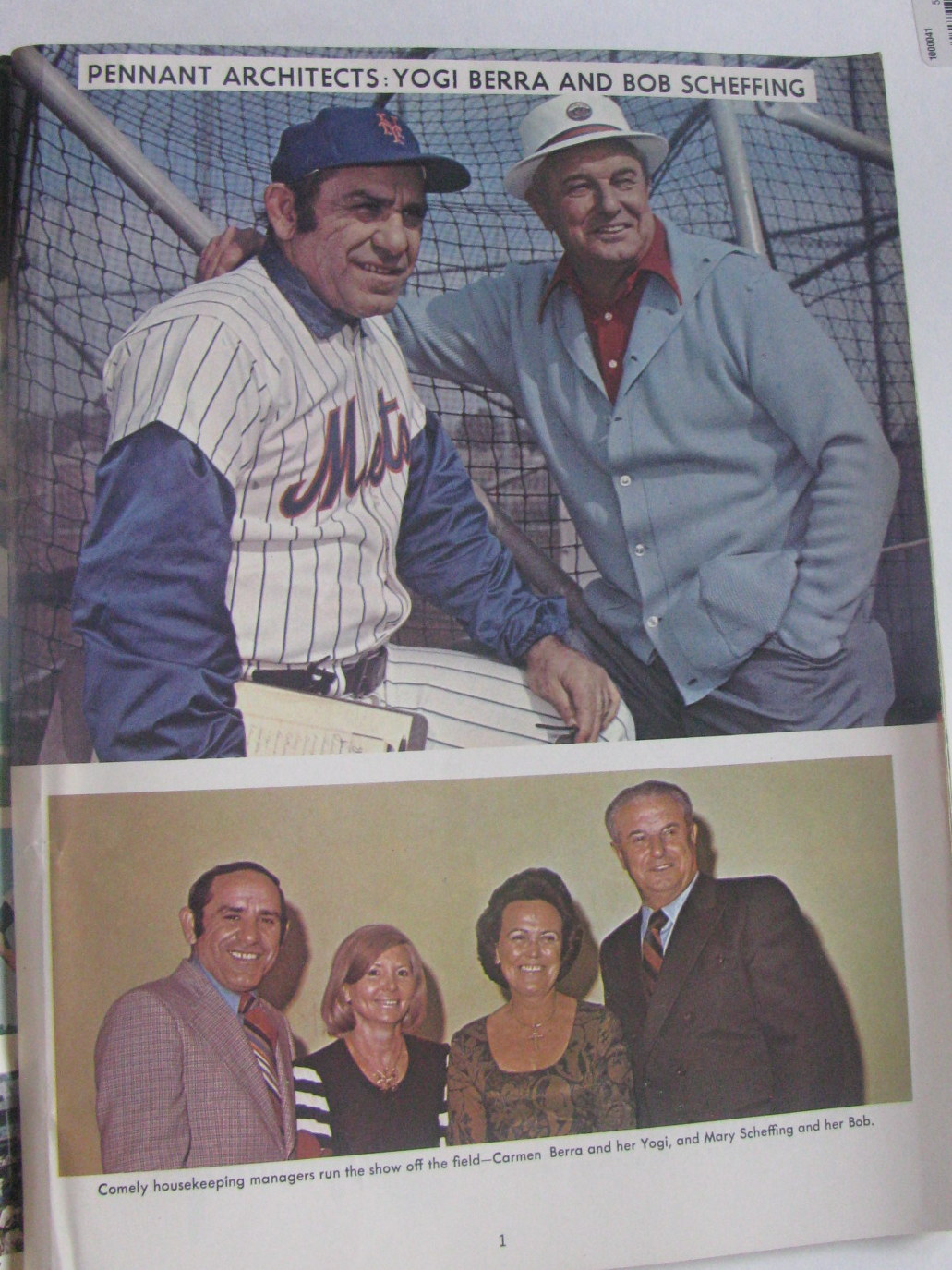 Lot Detail - 1974 NEW YORK METS YEARBOOK