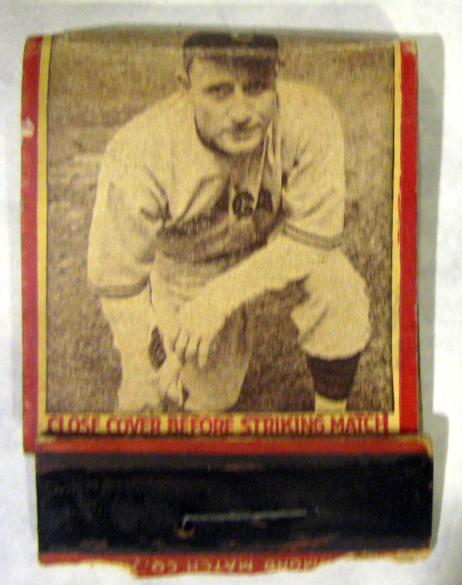 "30's CHUCK KLEIN ""PHILADELPHIA PHILLIES"" DIAMOND MATCH CO. MATCHBOOKAll > MiscContact infoAuctionCategoriesAbout UsSubscribe to our newsletter"