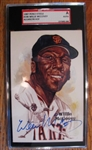 WILLIE MCCOVEY SIGNED PEREZ STEELE CARD - SGC SLABBED & AUTHENTICATED