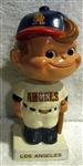 "60s LOS ANGELES ANGELS ""WHITE BASE"" BOBBING HEAD"