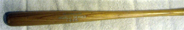 1935 WORLD SERIES SOUVENIR mini BAT
