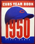 1950 CHICAGO CUBS YEARBOOK