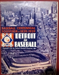 1939 DETROIT TIGERS YEARBOOK