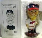 "2001 CLEVELAND INDIANS ""LIMITED EDITION"" BOBBING HEAD - MIB"
