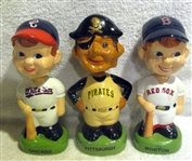"1988 ""TWIN"" BOBBING HEADS -PIRATES/WHITE SOX & RED SOX - 3"
