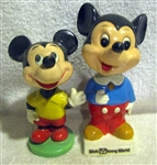 VINTAGE DISNEYs MICKEY MOUSE BOBBING HEADS - 2
