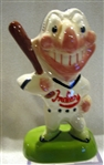 50s CLEVELAND INDIANS MASCOT BANK - CHIEF WAHOO