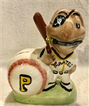 50s PITTSBURGH PIRATES MASCOT BANK