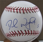 DAVID WRIGHT SIGNED BASEBALL w/CAS COA
