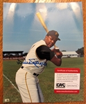 "WILLIE STARGELL SIGNED 8"" X 10"" PHOTO w/CAS COA"