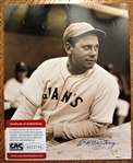 "BILL TERRY SIGNED 8"" X 10"" PHOTO w/CAS COA"