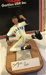 "1991 COOL PAPA BELL SIGNED NEGRO LEAGUE ""GARTLAN STATUE"" w/BOX & COA"