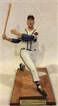 "1991 EDDIE MATHEWS SIGNED ""PROSPORT"" STATUE w/BOX & COA"